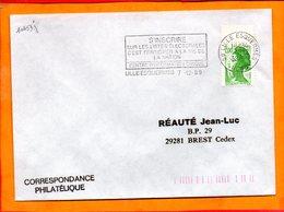 NORD, Lille, Flamme SCOTEM N° 10453j, S'inscrire Sur Les Listes Electorales - Postmark Collection (Covers)