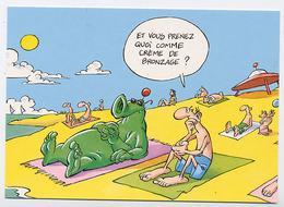 """{05878} Carte Postale """" Sous Le Soleil, Tout Roule! """" (c) . TBE. Illustration: Gaudelette.      """" En Baisse """" - Illustrateurs & Photographes"""