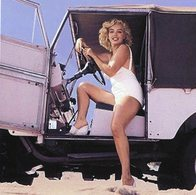 'Stars In Cars'  -   Marilyn Monroe  -  Land Rover   -  15x10 PHOTO - Passenger Cars