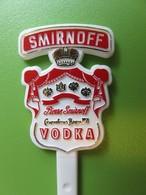 094 - Touilleur - Agitateur - Mélangeur à Boisson - Vodka - Smirnoff - Swizzle Sticks