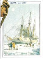 Norway -  The Ship Fram In The Ice, 1895, Unused Card - Norvegia