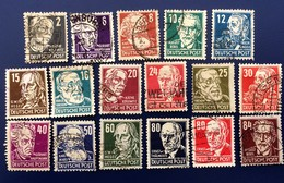 ALLEMAGNE GERMANY ALEMANIA DDR 1953, COLLECTION 2 - [6] Democratic Republic