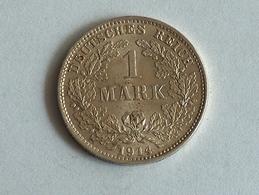 ALLEMAGNE 1 MARK 1914 D ARGENT SILVER Germany Deutschland Ein - [ 2] 1871-1918: Deutsches Kaiserreich