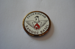 20180706-1909 SUISSE SCHWEITZ SAPEURS POMPIERS FEUERWEHR SANDOZ BASEL BALE - Firemen
