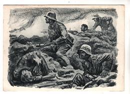 """Nr.+  927,  """" Sie Kommen """"  Von Elk Eber - Guerre 1914-18"""