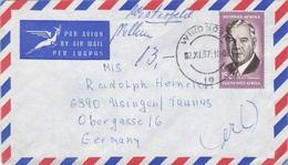 2 Stück Briefe Von Südwest-Afrika Nach Usingen/Deutschland - Sellos