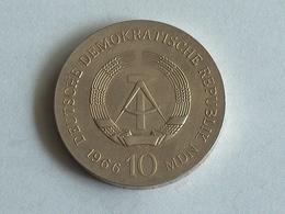 ALLEMAGNE 10 MARK 1966 ARGENT SILVER Germany Deutschland Drei - [ 6] 1949-1990 : RDA - Rep. Dem. Alemana