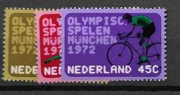 1972 MNH Netherlands, NVPH 1012-14 Postfris - 1949-1980 (Juliana)