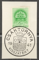 1941 Csáktornya Čakovec Occupation Revisionism WW2 WWII Croatia Yugoslavia Međimurje Hungary Comeback CUT Holy CROWN - 1931-1941 Kingdom Of Yugoslavia