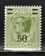 MONACO 1924 / 1933  - Y.T. N° 105 - NEUF** - Monaco