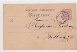 Karte Von 1878, Von Usingen Nach Weilburg - Documentos Históricos