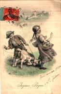 434 MM Vienne Munk - Pâques, Enfants Et Agneau - Vienne