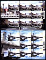 Slovenia 2018 Europa CEPT, Bridges Bruecken Ponts Architecture, Mini Sheet MNH - 2018