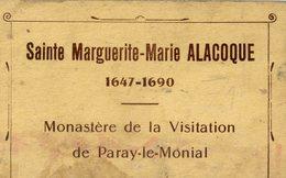 71 PARAY-LE-MONIAL - Sainte Marguerite-Marie ALACOQUE - Monastère De La Visitation Album-Souvenir De 20 Cartes Postales - Paray Le Monial