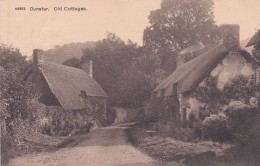DUNSTER - OLD COTTAGES , DUNSTER THIMBLE CANCELLATION - England