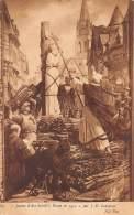 Jeanne D'Arc Brûlée à Rouen En 1431, Par J-E. Lenepveu - Sculptures