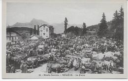 74 - MEGEVE - Haute-savoie - La Foire - éditeur Morand N° 36 - CP Non écrite - Megève