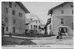 74 - MEGEVE - Haute-Savoie - Megève Intérieur - Café De L'Harmonie Livreur De Vin - éd. Morand N° 22 - CPA Non écrite - Megève