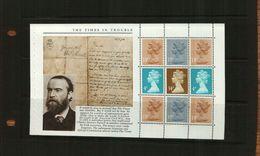 GREAT BRITAIN - QEII - 1985 BOOKLET PANE -  - 9 Stamps - 1952-.... (Elizabeth II)