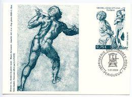 France 2004 Philatelic Souvenir Card, Michelangelo Slave Sculptures - Other