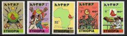 Ethiopia, Scott # 874-8 MNH Call To The Motherland, 1978 - Ethiopie