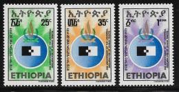 Ethiopia, Scott # 903-5 MNH Human Rights, 1978 - Ethiopie