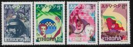 Ethiopia, Scott # 977-80 MNH 6th Revolution Anniv., 1980 - Ethiopie