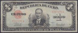 1938-BK-56 CUBA REPUBLICA. 1$ 1938 CERTIFICADO DE PLATA. SILVER CERTIFICATE. - Cuba