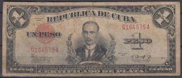 1943-BK-41 CUBA REPUBLICA. 1$ 1943 CERTIFICADO DE PLATA. SILVER CERTIFICATE. - Cuba