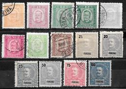 FUNCHAL - MADERE - PORTUGAL - Dépendance Portugaise 1892 / 1897 - 14 Timbres Neufs Et Oblitérés - Funchal