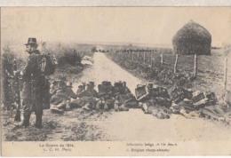 La Guerre - Infanterie Belge En Tiraileurs   : Achat Immédiat - Guerre 1914-18