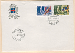 ICELAND Europa 1982 (Historical Events) First Day Cover Mi. Nr. 578-579 - Europa-CEPT