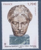 N° 5154 Jeanne Bardey Valeur Faciale 1,70 Euros - France