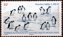 """TAAF 2017 : """"Manchot Terre Adélie"""" - Neuf ** - - Französische Süd- Und Antarktisgebiete (TAAF)"""