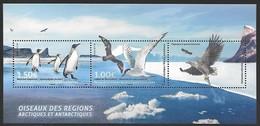 """TAAF 2017 - Bloc """"Oiseaux Des Régions Arctiques Et Antarctiques"""" - Neuf ** - - Neufs"""