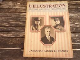L'Illustration L'American Legion En France 24 Septembre 1927 - 1900 - 1949
