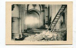CPA  51  :  SACY   Intérieur église       A  VOIR  !!!!!!! - Autres Communes