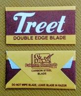 Treet Double Edge Blade - Razor Blade In Wrapper - Made In Pakistan - Razor Blades