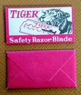 TIGER Safety Razor Blade - Vintage - Razor Blade In Wrapper - Made In Czechoslovakia - Razor Blades
