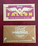 FALCON - Treet Fibe Quality Blade - Vintage - Razor Blade In Wrapper - Made In Pakistan - Razor Blades