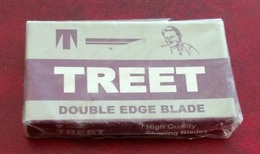 Treet Double Edge Blade  - Full Box Of 5 Blades - Made In Pakistan - Razor Blades