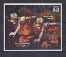 SIERRA LEONE 1995 - Disney & Degas - Mi B257; CV=6.5 € - Impressionismo