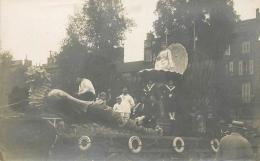 33 CARTE PHOTO FETE DES VENDANGES EN GIRONDE CHAR ARCACHON - France