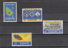 Barbados Nº 349 Al 352 - Barbados (1966-...)