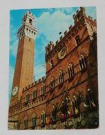 SIENA - Palazzo Pubblico Con Bandiere Delle Contrade - Palio - 1967 - Siena
