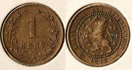 Niederlande - Netherlands - NEDERLAND 1 Cent 1878  (r791 - Netherlands