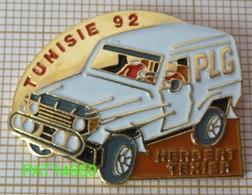 RALLYE De TUNISIE 92 HERBERT TEXIER  PLG  4x4 - Rallye