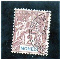 B - 1906 Moheli - Definitiva - Usati