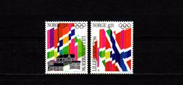 Norway 1992 Olympic Games Lillehammer Set Of 2 MNH - Winter 1994: Lillehammer