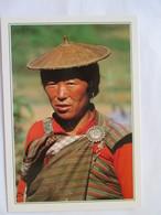 Bhoutan  Portrait De Femme Des Montagnes - Bhoutan
